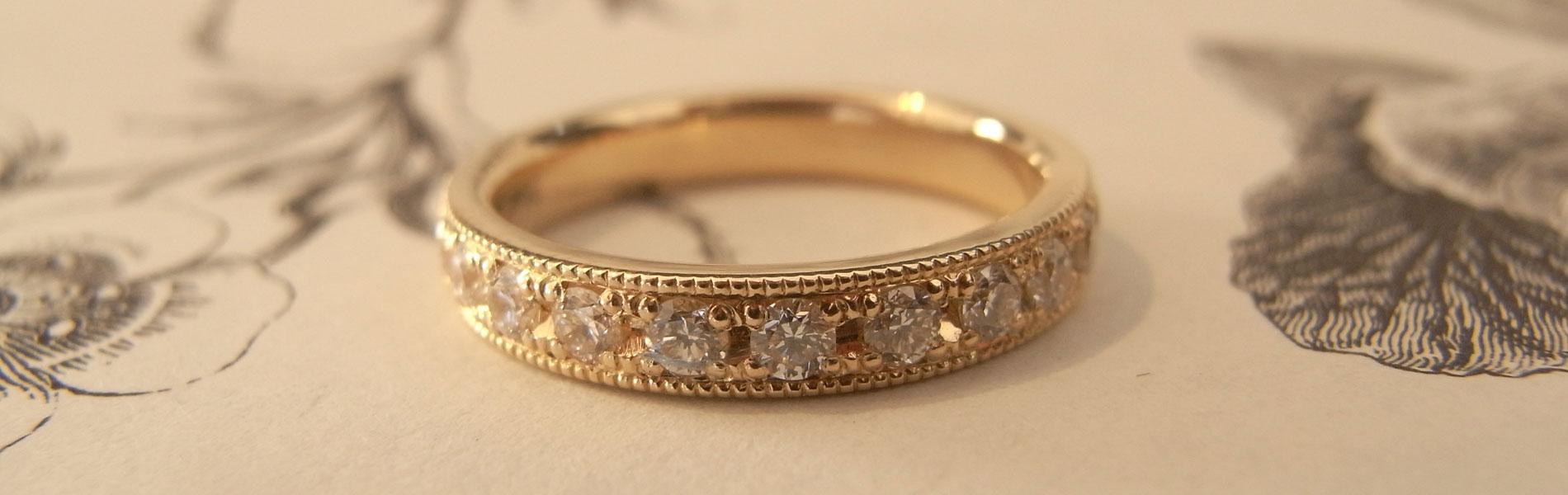 結婚指輪 手作り 群馬県 高崎市